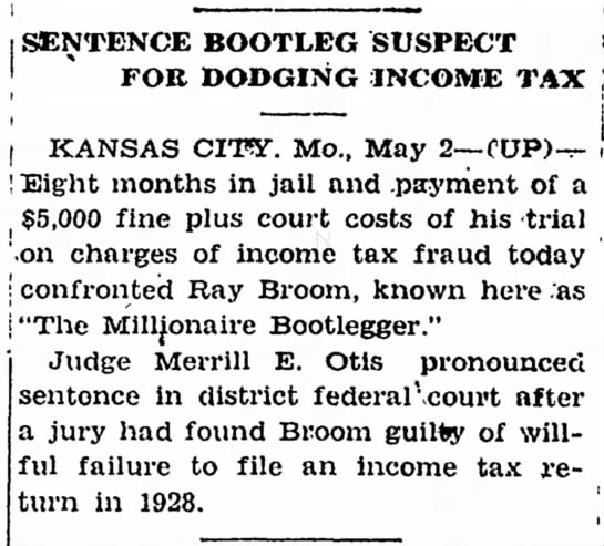 Chillicothe Constitution-Tribune, Chillicothe, MO2 May 1931, pg 10 -