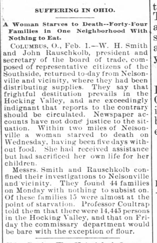 John Rauschkolb - The Charlotte Observer (Charlotte, North Carolina)02 Feb 1895, SatPage 4 -