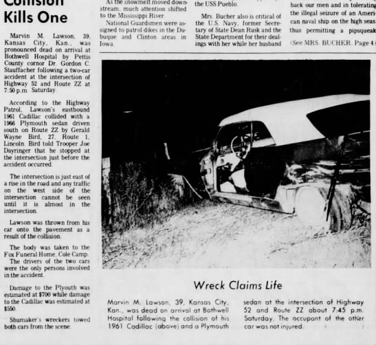 Car Accident Resulting in Death - Newspapers com
