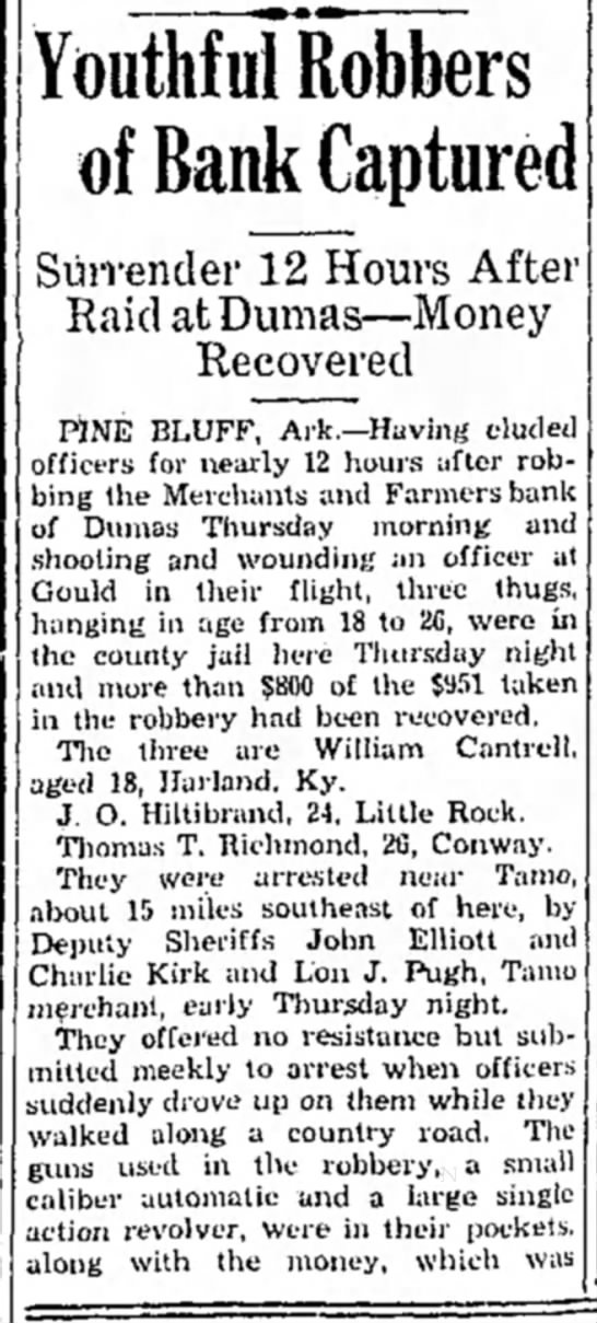 Hope Star newspaper 27 Apr 1934 page 3 in Hope, Arkansas -