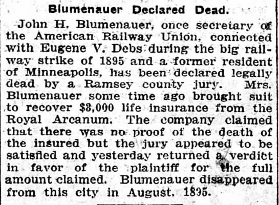 Minneapolis Journal 21 Jan 1903 -
