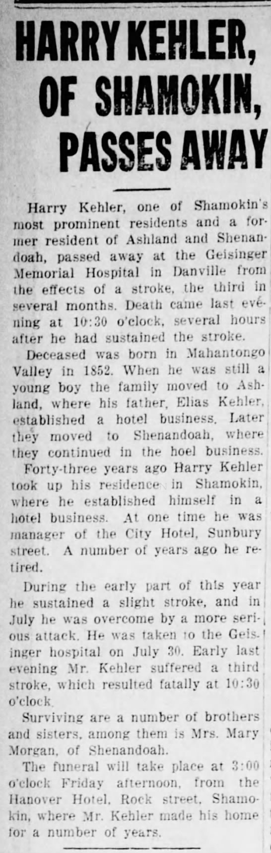 Daily News (Mt Carmel) 11 Aug 1926 Page 8 -