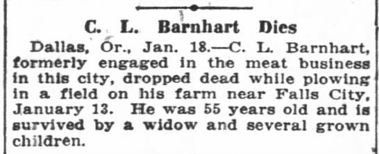 Clarence L Barnhart -