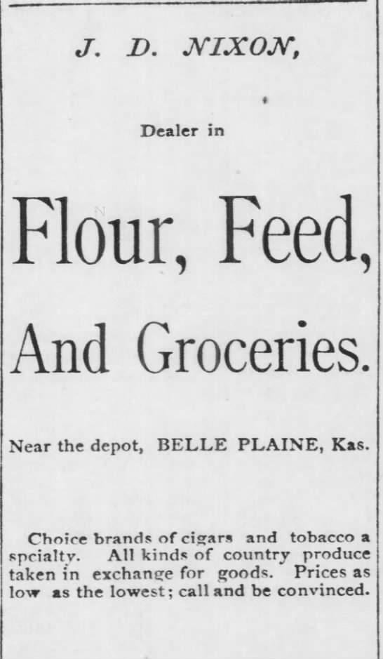 jd nixon flour and feed near the depot newspapers com newspapers com