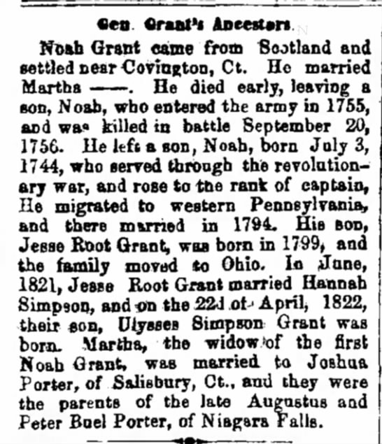 Grant Family 7.11.1867 Milwaukee WI -