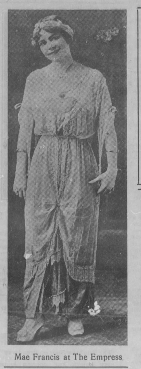 Mae Francis_1913 -