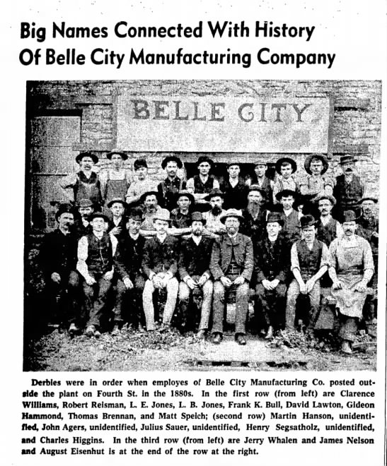 - Big Names Connected With History Of Belle City...
