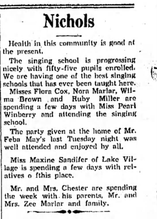 Winberry HS 25 JUly 1931 p2 -