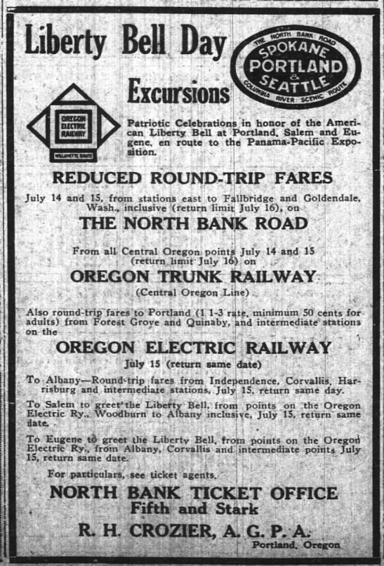 The Oregon Daily Journal  July 13, 1915 -