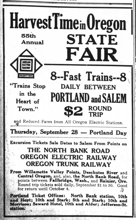 The Oregon Daily Journal  September 20, 1916 -