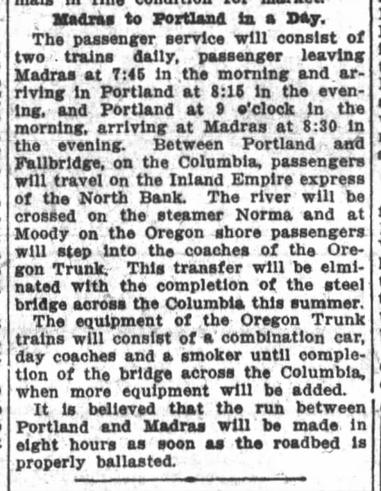 The Oregon Daily Journal  February 22, 1911 -