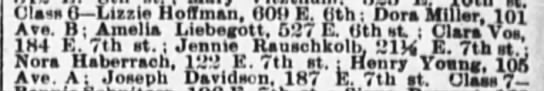 Jennie Rauschkolb - The Evening World (New York, New York)16 Mar 1889, SatPage 2 -