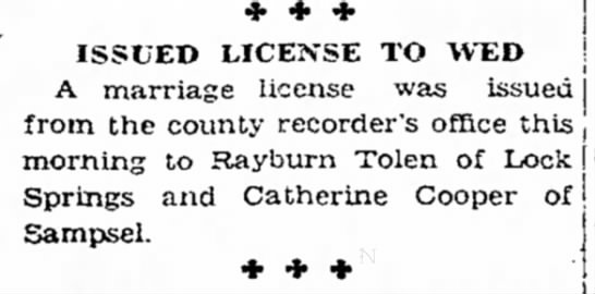 The Chillicothe Tribune (Chillicothe, MO) May 19, 1937, Pg 1 -