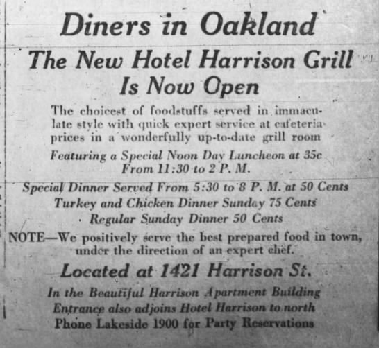 Hotel Harrison Grill - and Apartments -
