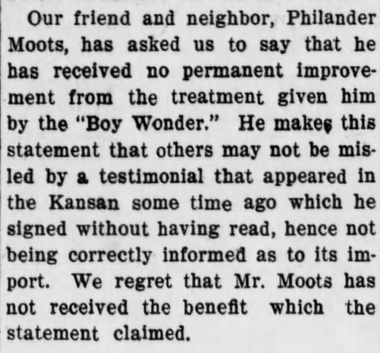 Philander Moots -