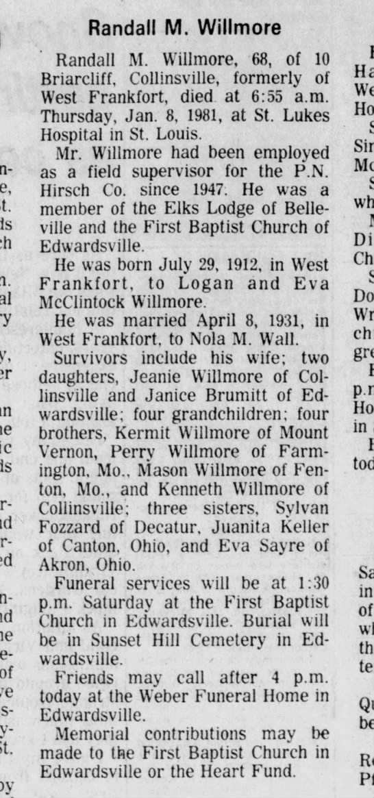 Southern Illinoisan Carbondale, Illinois Page 18 January 9, 1981 -