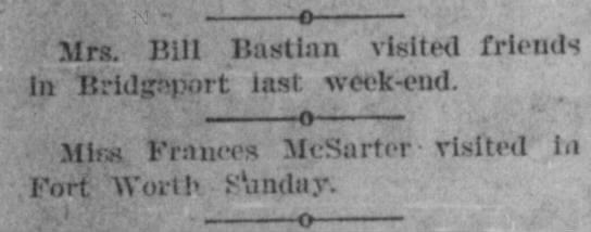 Bastian mrs bill visited bridgeport -