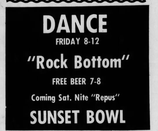 Sunset Bowl-1974-1-11-Rock Bottom-Repus -
