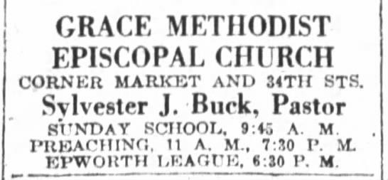 Grace Methodist Episcopal Church -