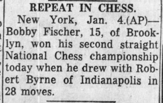 Repeat In Chess -