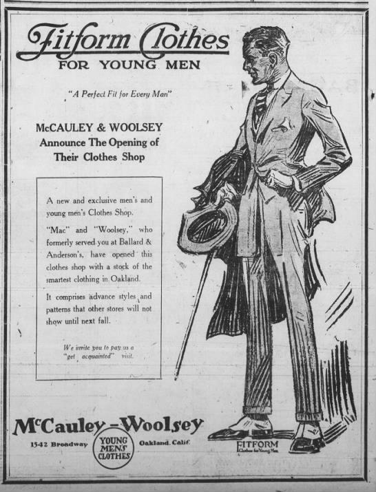 McCauley-Woolsey -- opening soon -