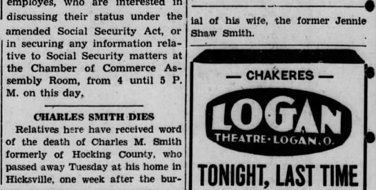 Charles Smith death -