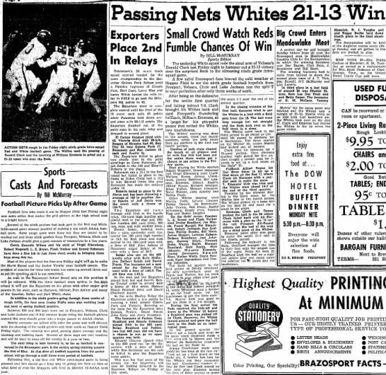 - Passing Nets Whites 21- ACTION GETS rough In...