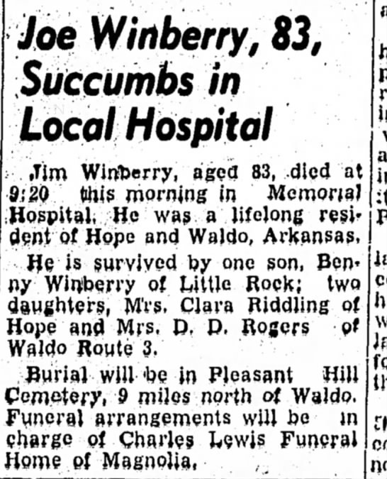 Winberry HS 29 Mar 1957 p1 -