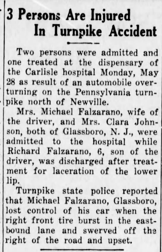 The News- Chronicle ( Shippensburg , Pennsylvania) Dated Tuesday,  June 5, 1956. -
