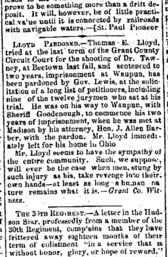 Semi-Weekly Wisconsin, Milwaukee, WI 16 Apr 1864 -