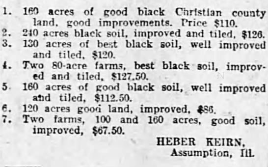 More Heber land deals -