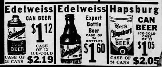 Edelweiss LP and Hapsburg Dec 30, 1940 -