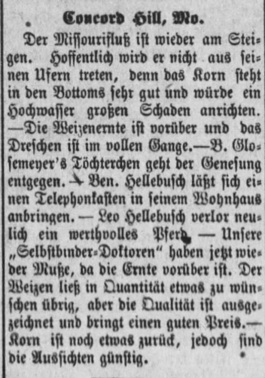 ben hellebusch german newspaper -