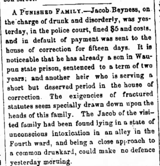 2 May 1868 The Daily New (Milwaukee, Wisconsin) -