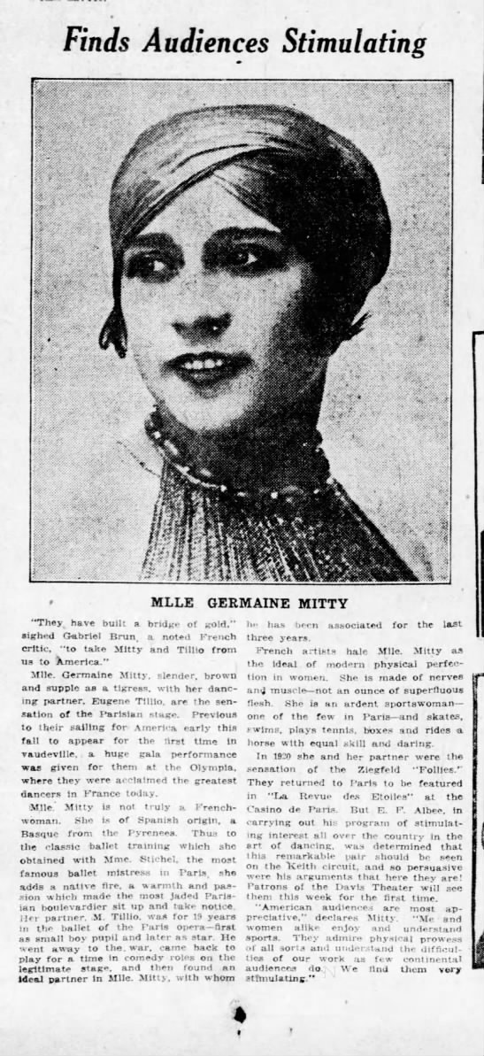 Germaine Mitty (1922) -