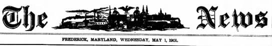 - MARYLAND. WEDNESDAY, MAY 1, 1901. 30