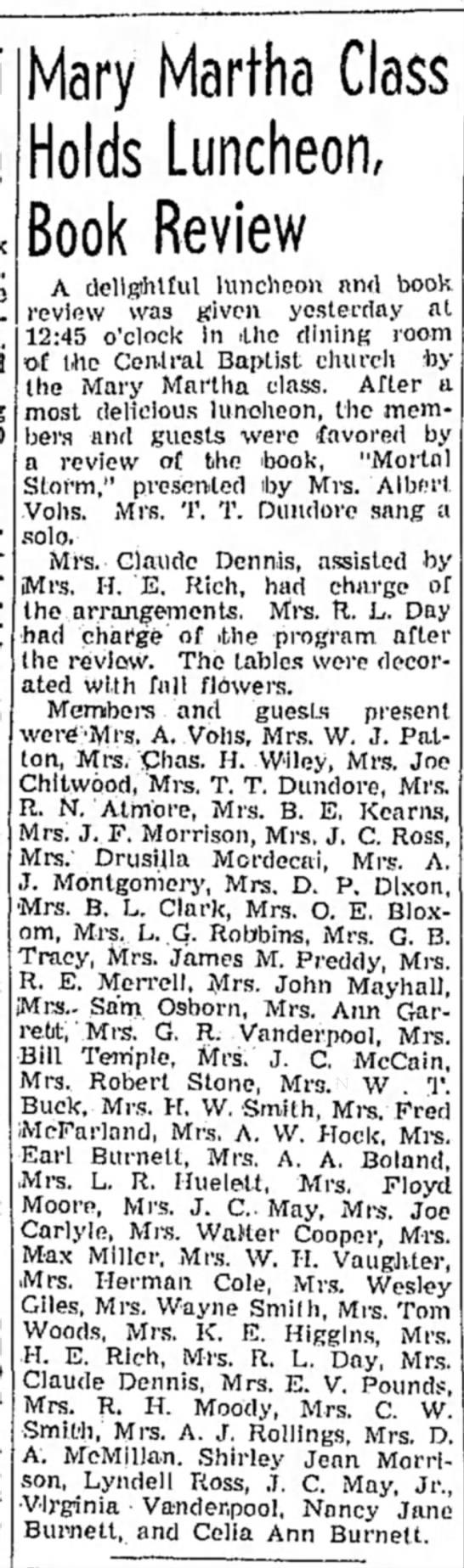 Clovis News-Journal 11/9/1938 -