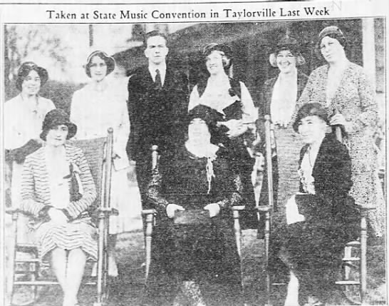 1932 music convention photo -