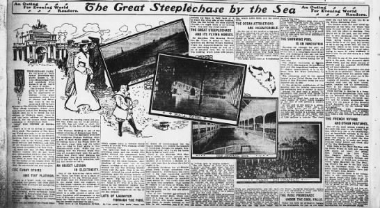 The Great Steeplechase by the Sea -