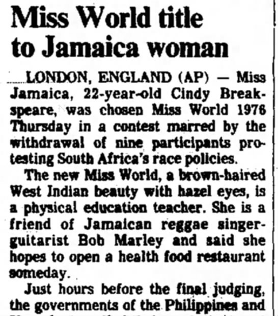 19_November_1976_The_Des_Moines_Register_Des Moines, Iowa - Miss World title to Jamaica woman LONDON,...