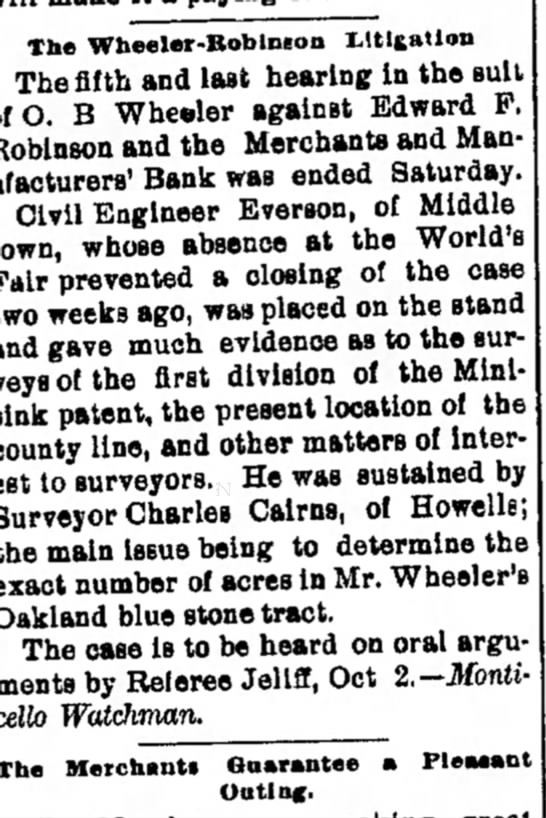 Middletown Times-Press 12 August 1893, Page 3 -
