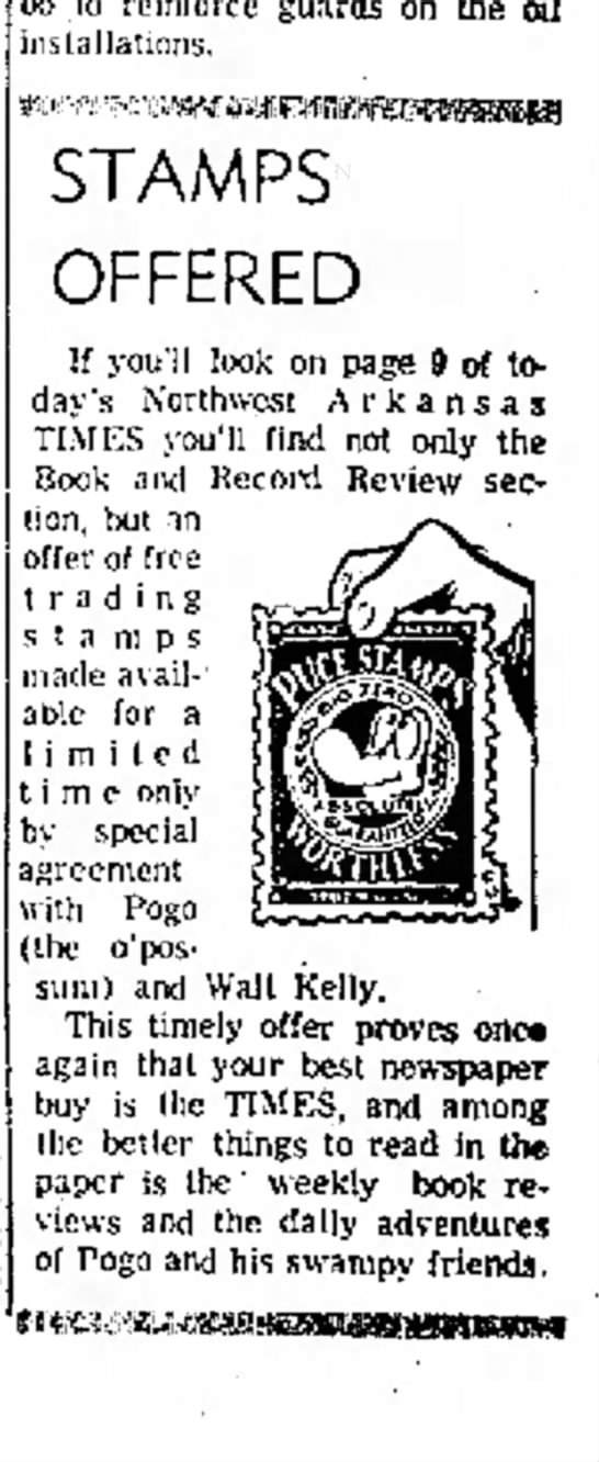 Puce Stamps (Walt Kelly) -- Source. 29 October 1962 - exchange Kennedy the as Maracaibo to reinforce...