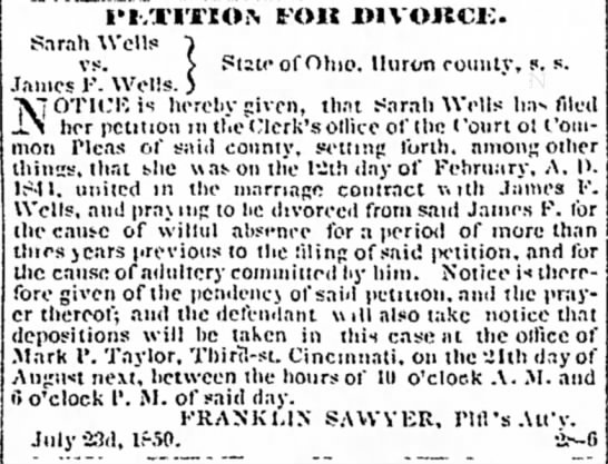 Huron Reflector Newspaper (Norwalk, Ohio), 6 Aug 1850, Page 10 -