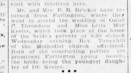 Pittsburg Daily Headlight Pittsburg KS 25 Aug 1906 Page 3 -