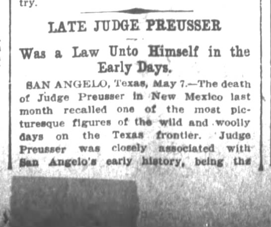 Houston Daily Post 5 8 1910 p53 1 - LATE JUDGE PEETTSSEE Was a 5596b98cd11