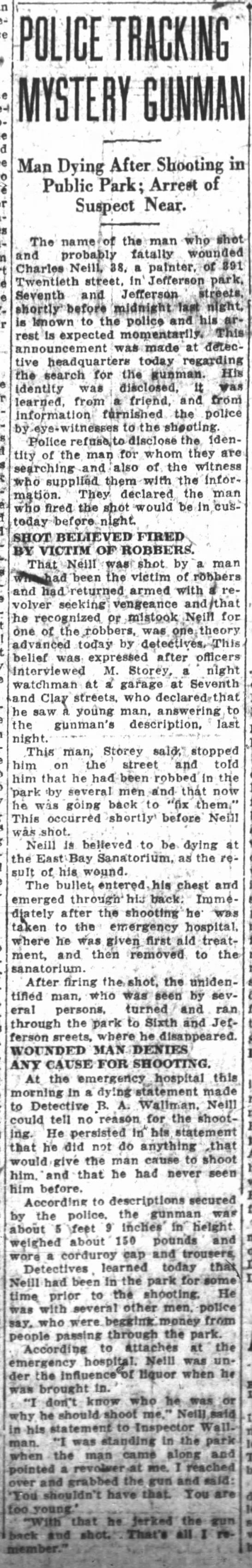 mystery gunman -