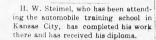 March 18, 1915, The Alma Signal Herman Steimel -