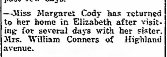 Margaret Cody -