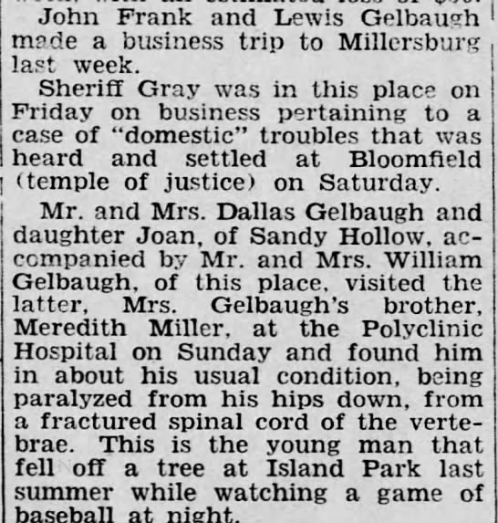 The Perry County Democrat (Bloomfield, PA) pg 1 Wednesday 2/20/1935 -