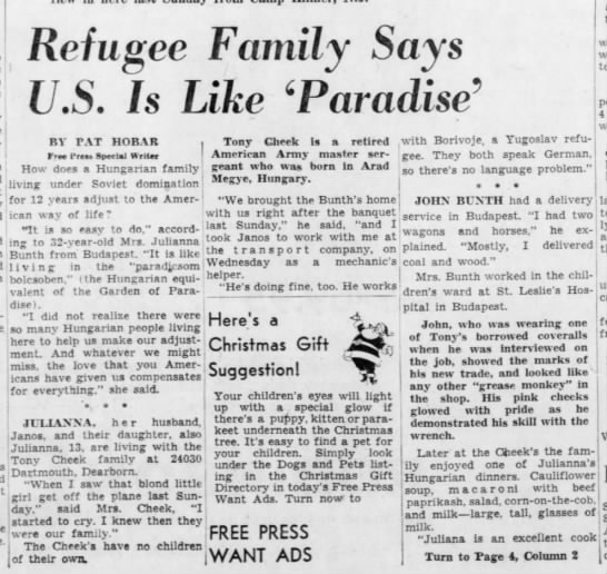 Refugee Family Says U.S. Is Like 'Paradise' -